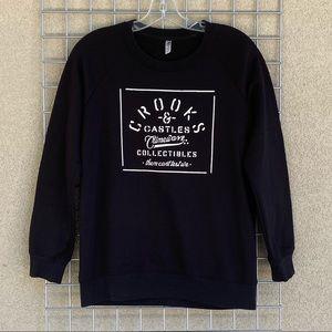 Back Hype Crewneck Boyfriend Oversized Sweater